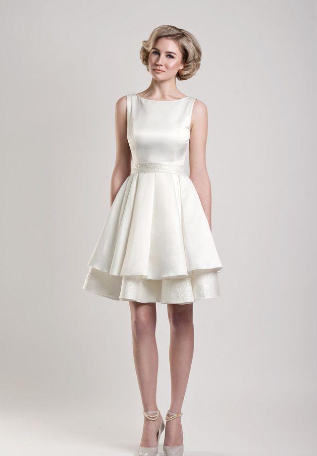 Best Short White Wedding Reception Dress 2015 Wedding Dresses