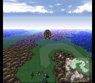 Final Fantasy VI Mode 7