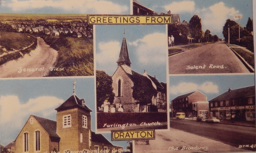 Postcard of Drayton