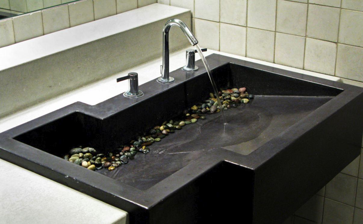 Christopher william adach handbook sink design from - Elements salle de bain ...