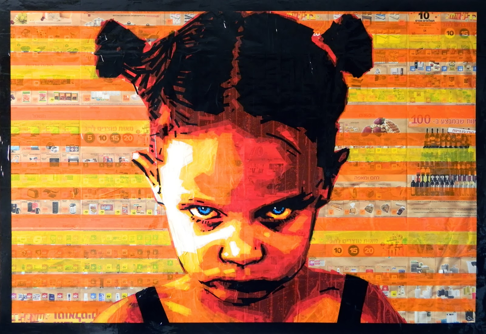 tape art contemporary artist russia nikolay vasilyev street pop manifesta 10