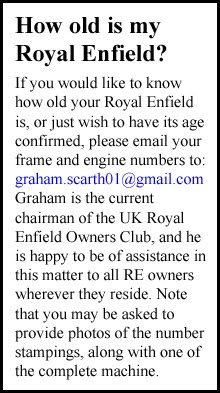 Identify a Royal Enfield