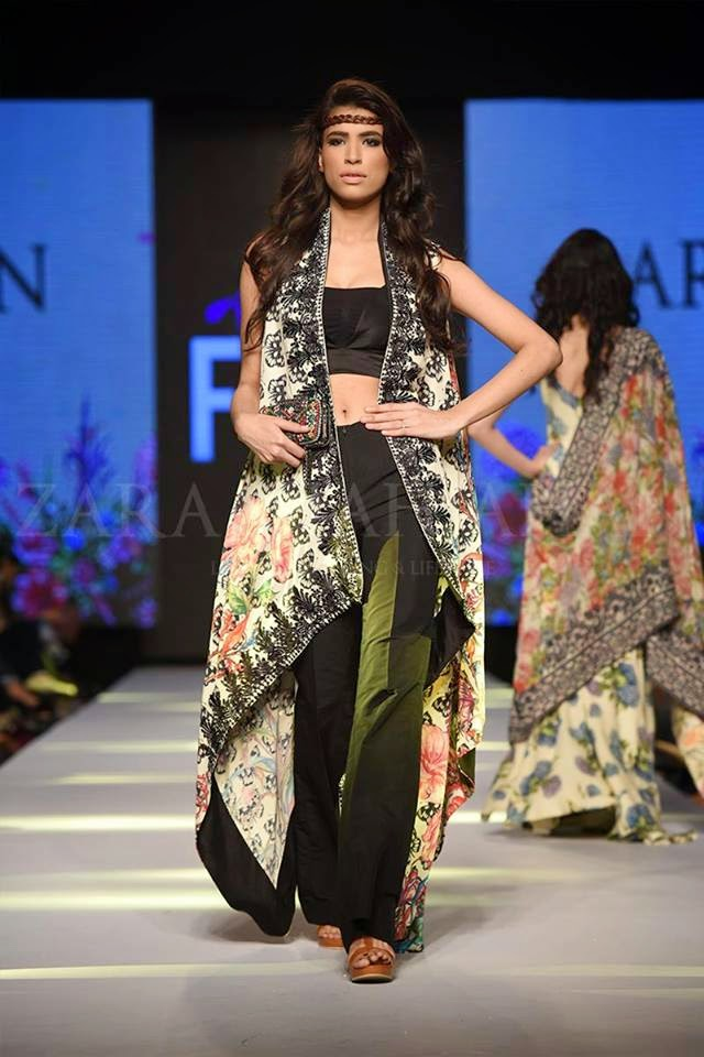 Zara Shahjahan long summer dress TPFW 2015