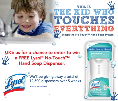 Lysol soap dispenser coupon canada