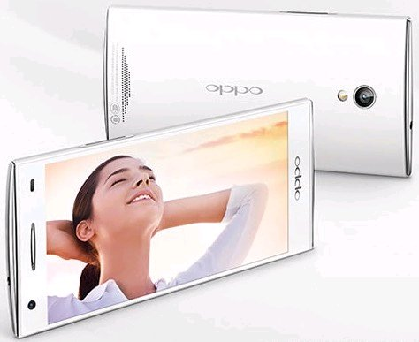 oppo find way display