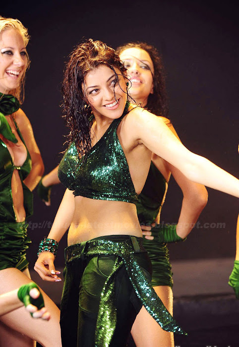 Kajal Agarwal in Hot Pants,Kajal Agarwal in Shining Blouse