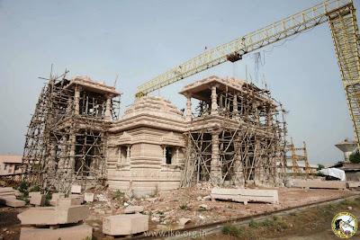 Jagadguru Kripalu's Kirti Maiya Temple at Barsana Dham