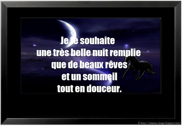 Image citation bonne nuit