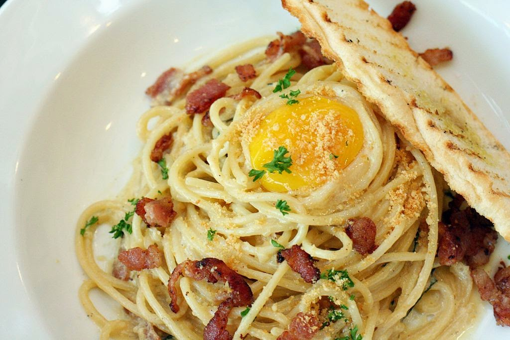 Carbonara Romano Malcolm's Deli The Fort