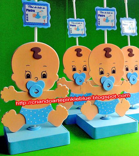 Bebezinho de eva -centro de mesa:R$5.00 cd