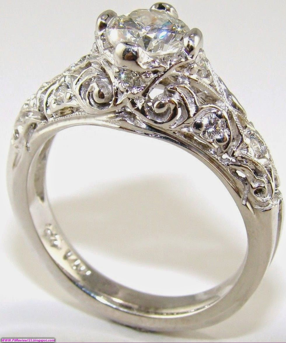 The gallery for Vintage Wedding Rings For Women