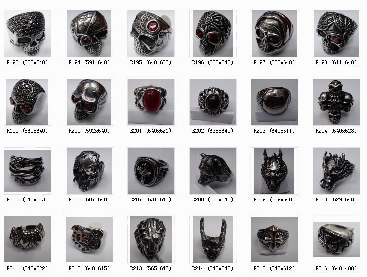 Motorcycle Rider Rings