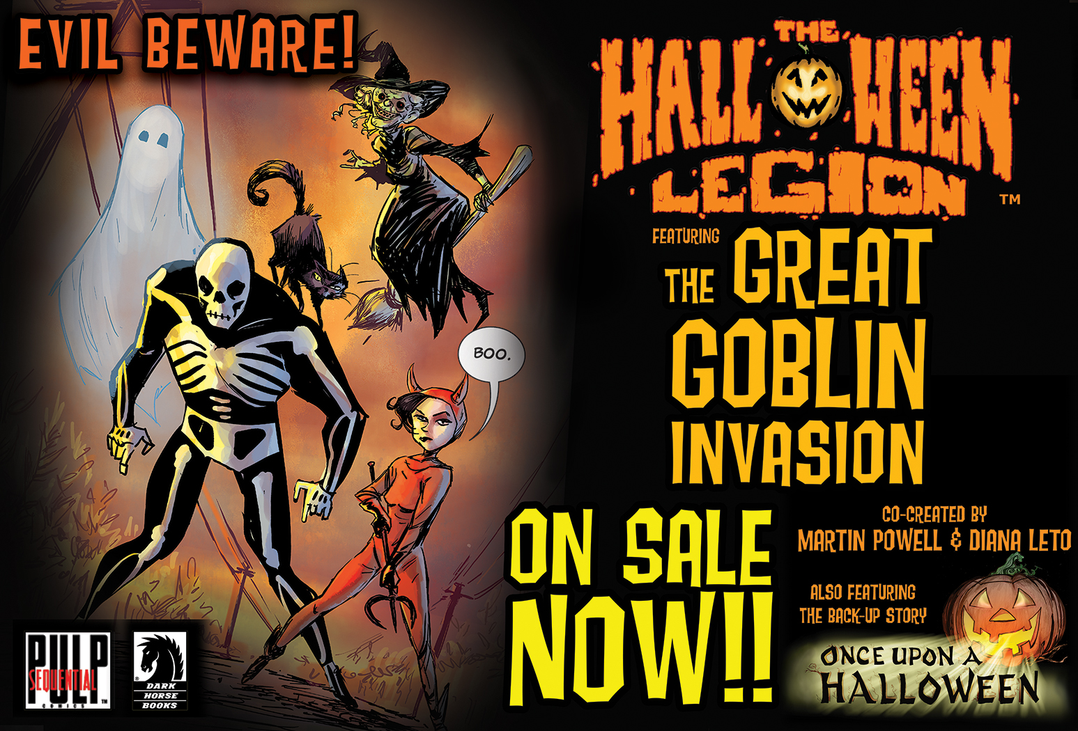 diana leto: the halloween legion on sale now!