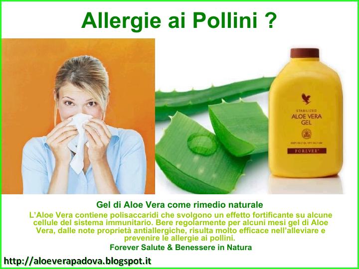 Allergie ai pollini ?