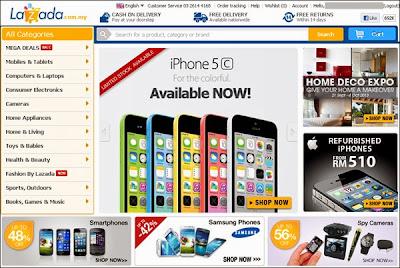lazada online malaysia smartphone