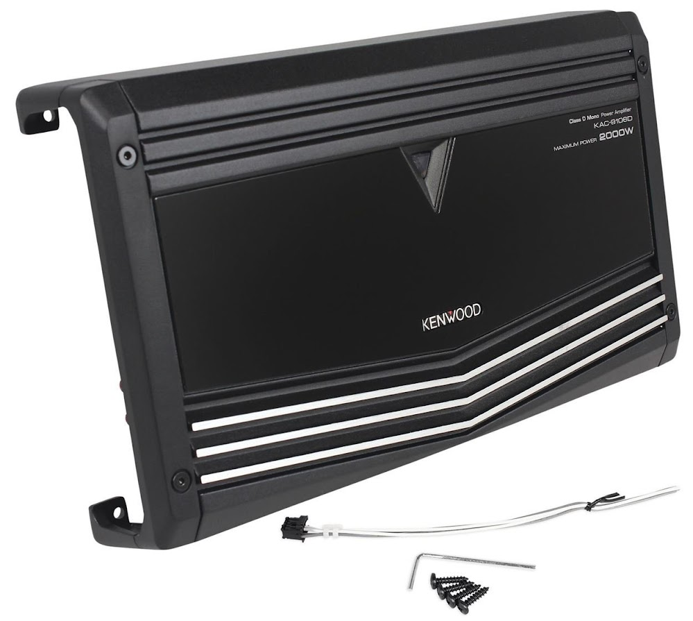 Top 10 Mono Amplifiers 2016 Power Amplifier 2000 Watt Kenwood Kac 9106d Watts Peak 1000 Rms Block Class D Car With Speaker Level Inputs