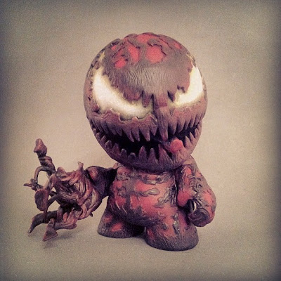 Carnage Custom Munny Vinyl Figure by Shadoe Delgado
