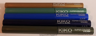 Super Colour Eyeliner Kiko