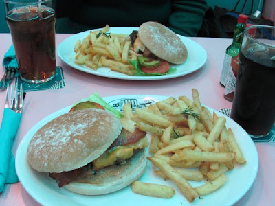 HD Diner - Americano Burger