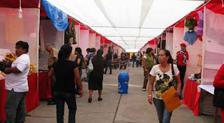 Artesanos exponen sus productos en feria por Fiestas Patrias