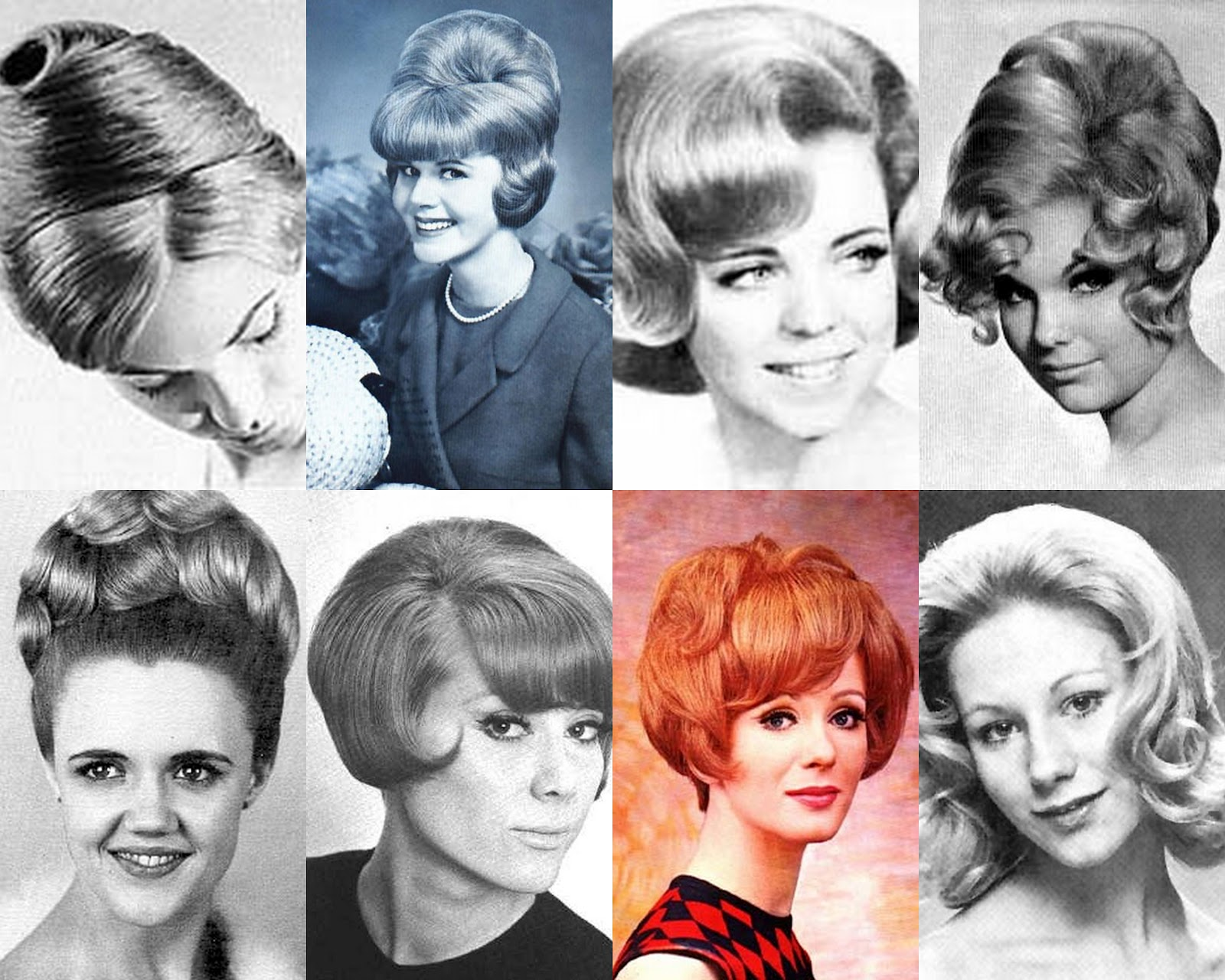 The Red Lipstick 1960s Hairstyles