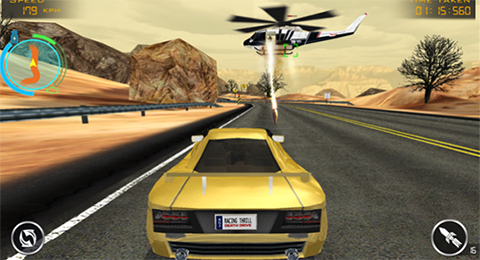 juego death race gameplay