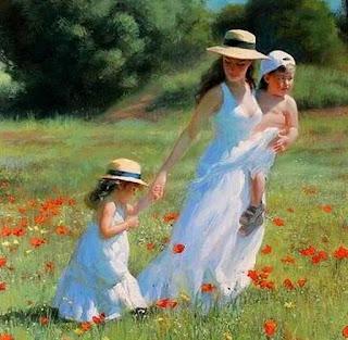 Cuadros Mujeres Con Sombrero