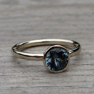 fair trade sapphire ring