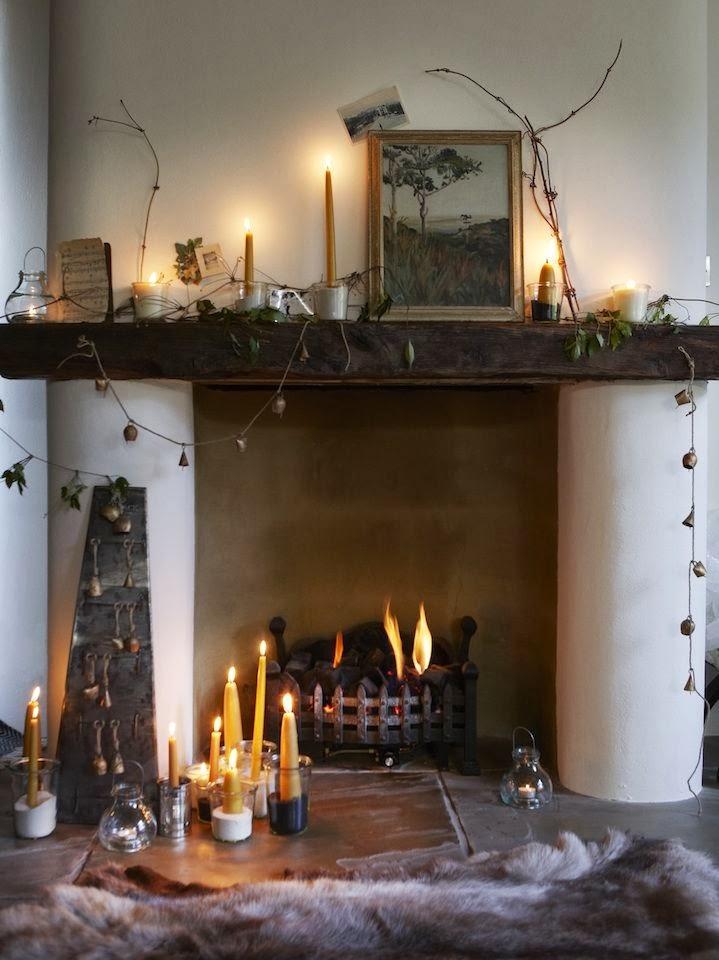 Amores bohemios...: tardes de lluvia y chimenea