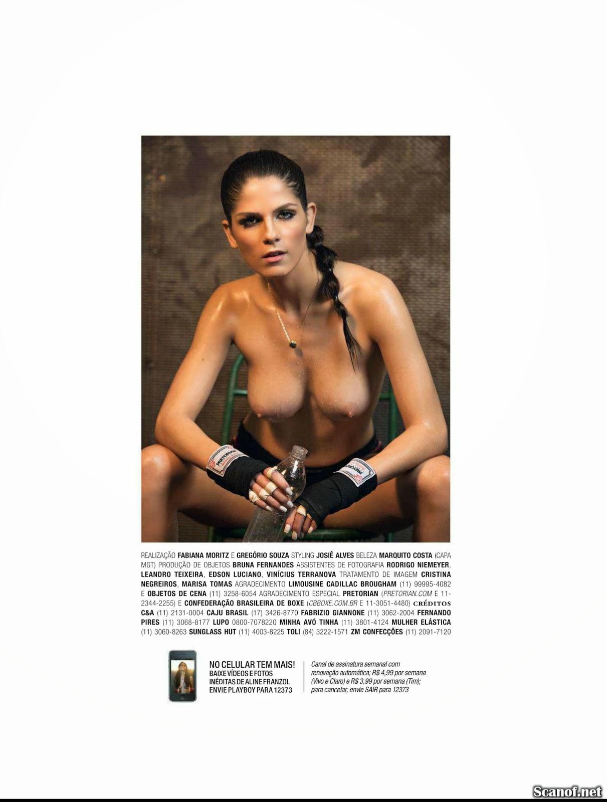 Playboy aline franzoi PLAYBOY MAGAZINE