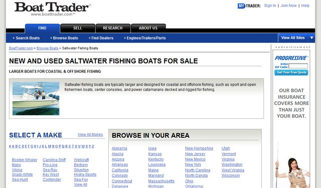 BoatTrader.com Used Fishing Boats
