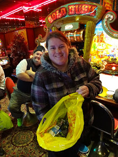Helen Dodd - the 2015 Worlds £2 Tat Challenge in Hastings
