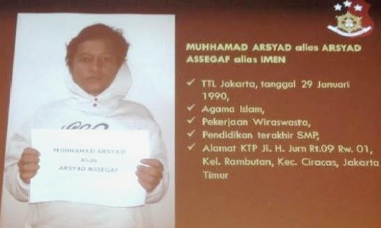 Foto Pelaku Penghinaan Pencemaran Nama Baik Presiden Jokowidodo Muhammad Arsyad/Arsyad Assegaf