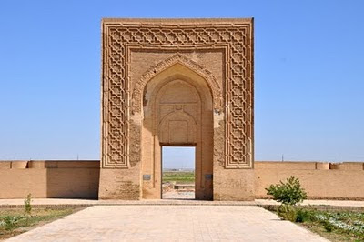 Rabati Malik caravanserai between Samarkand and Bukhara