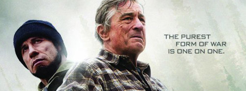 Robert De Niro and John Travolta star in KILLING SEASON