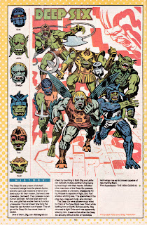 Seis Profundos - Deep Six - (ficha dc comics)