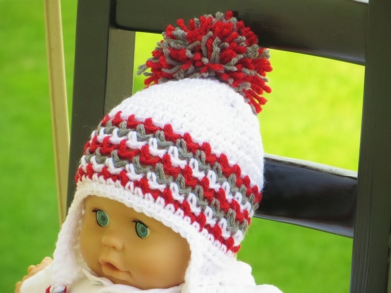 Ear Flap Hat Crochet Pattern for Boys and Girls, Newborn to Man ...