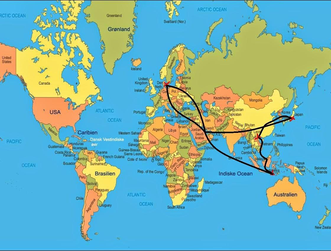usa verdenskort