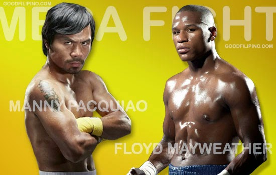 Manny Pacquiao vs Floyd Mayweather Jr. Fight set on May 2, 2015