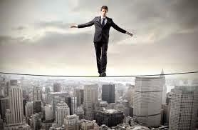 a man hanging