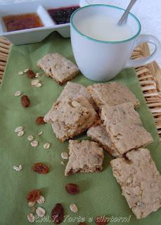 Fruit & Oat Bars biscotti tradizionali irlandesi