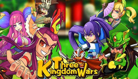 Three Kingdom Wars Gameplay