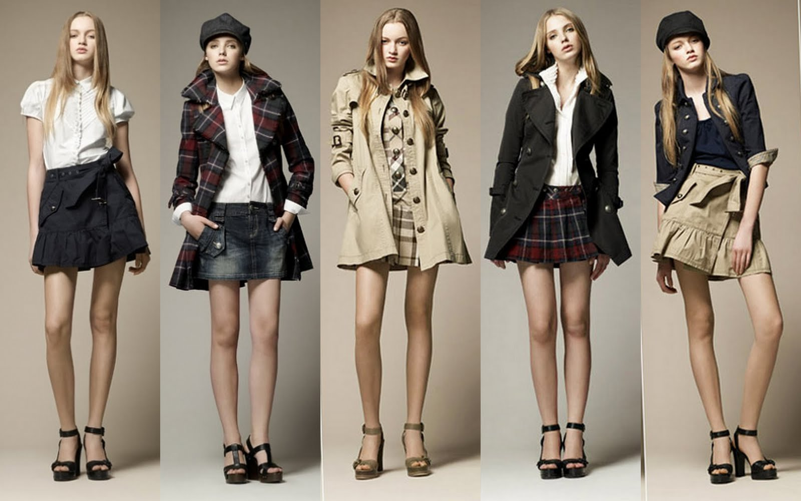 Frills And Thrills Burberry Blue Label Spring Summer 2011