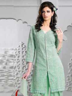Latest Churidar Shalwar Kameez & Neck Designs with Patterns - PK