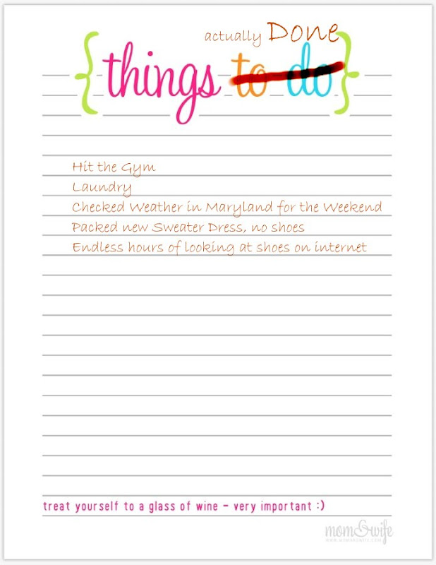things to do list template .
