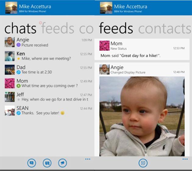BBM Akan Segera Hadir Di Windows Phone