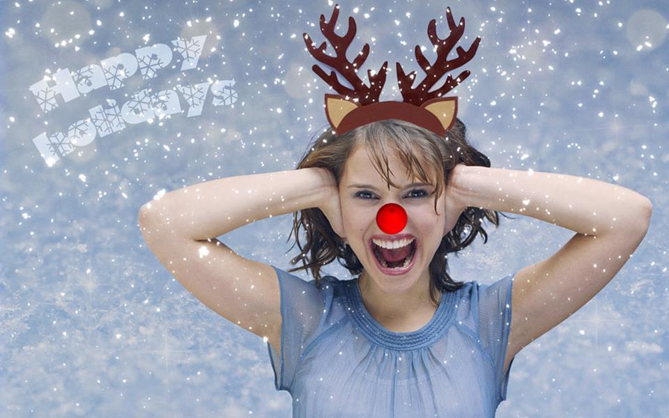 Natalie Portman Holidays Image