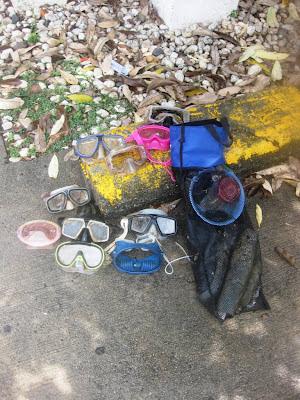 Debris found at Chaweng Beach