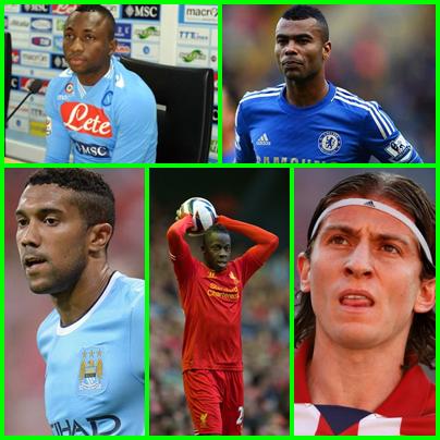 Melhores laterais esquerdos do pro evolution soccer 2013