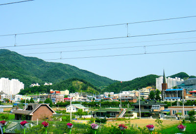 The neighbourhood view at Cheongpyeong Station Korea